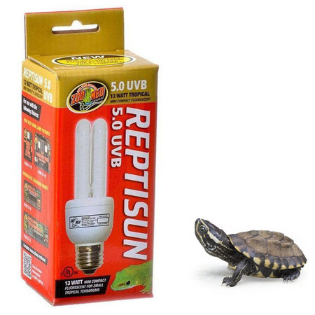 Zoo Med Reptisun 5.0 UVB 13 Watt Turtle Bulb
