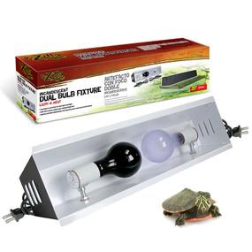 Zilla Incandescent Dual Bulb Fixture.