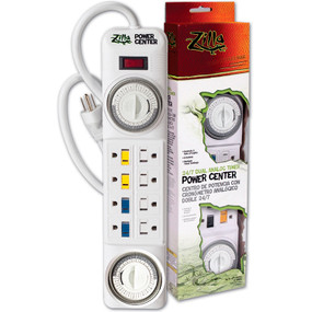Zilla 24/7 Dual Analog Timer Power Center