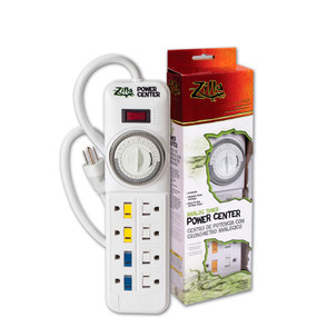 Zilla 24/7 Analog Timer Power Center