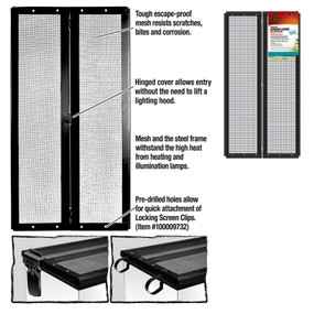 Zilla Fresh Air Screen Cover With Center Hindge