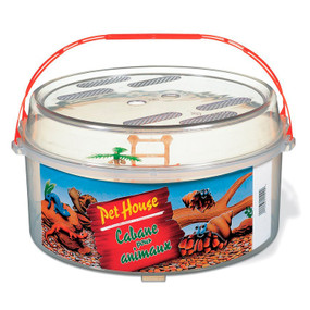 Traveling Turtle House And Feeding Container