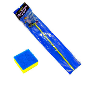 Blue Ribbon Algae Cleaner Scraper 20 Inch Handle