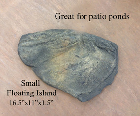 Patio Pond Small Floating Island