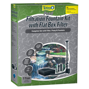 Turtle Pond Filter & Fountain 75 To 250 Gallon Ponds