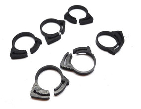 Plastic Hose Clamps 6 Pack