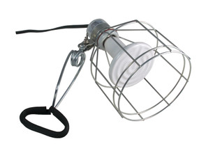 Zoo Med Wire Cage Clamp Lamp Image.