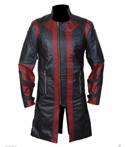 Hawkeye - Avengers Jeremy Renner's Nappa Leather Coat 1