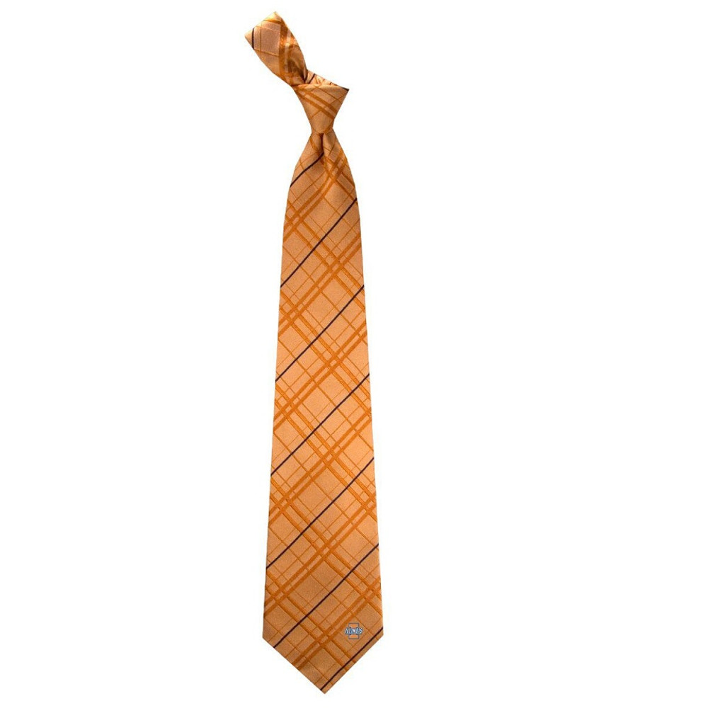 Illinois Fighting Illini Oxford Woven Silk Tie | Eagles Wings | 4863