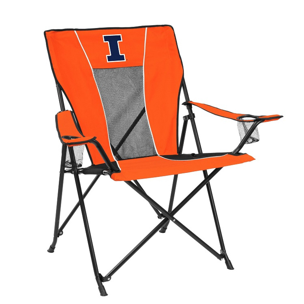Illinois Fighting Illini Game Time Tailgate Chair   Logo Chair   151-10G