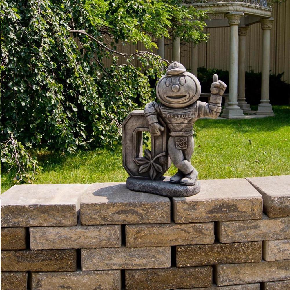 state buckeyes vintage mascot garden statue