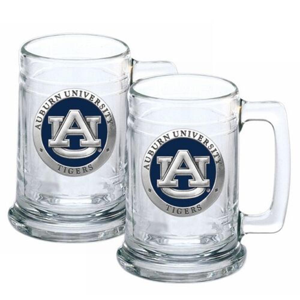 Auburn Tigers Beer Mug Set of Two | Heritage Pewter | ST10155EB