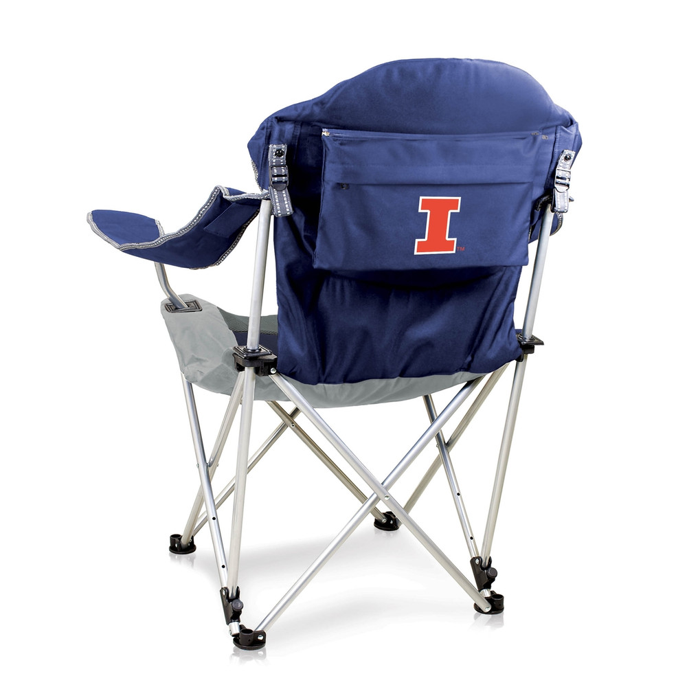 Illinois Fighting Illini Reclining Camp Chair | Picnic Time | 803-00-138-214-0
