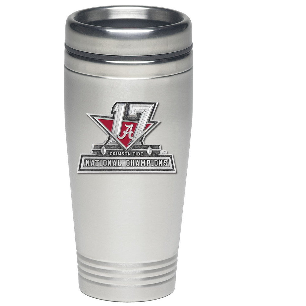 2017 National Champions Alabama Crimson Tide Thermal Mug | Heritage Pewter | TD11088E
