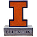 Illinois Fighting Illini Mascot Garden Statue