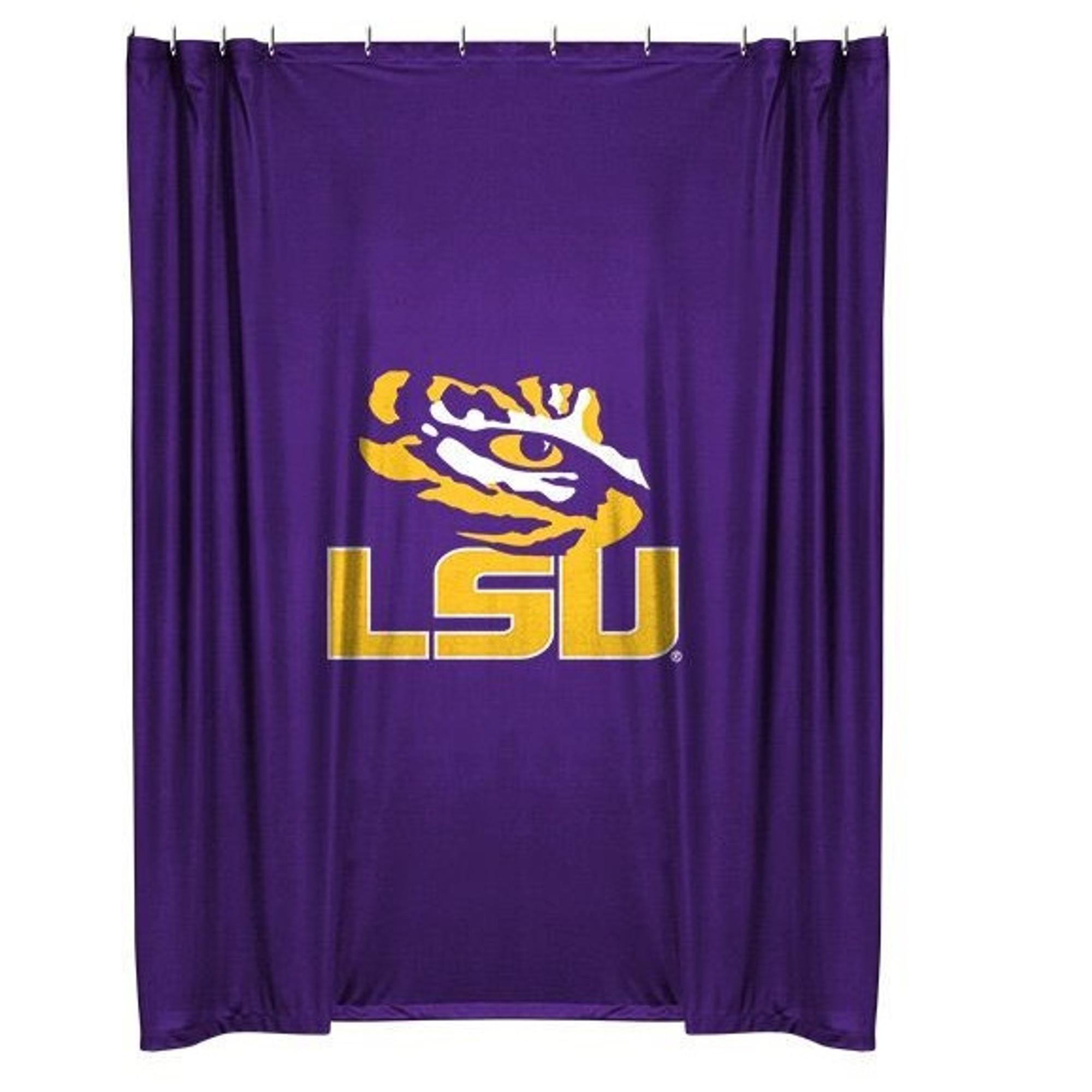 LSU Tigers Shower Curtain