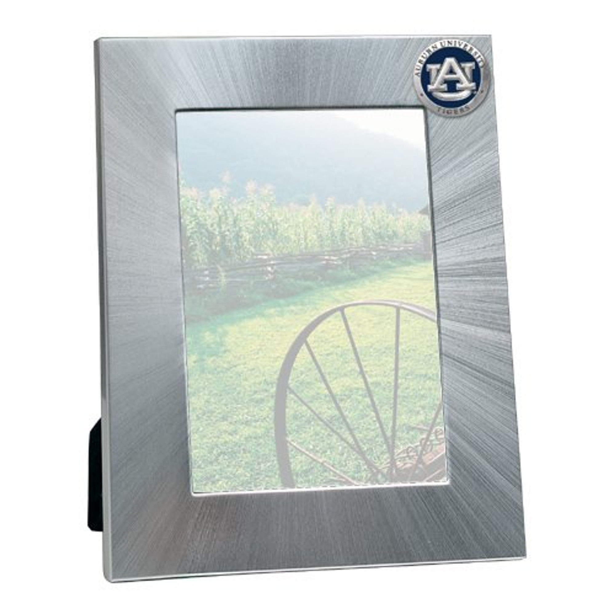 Auburn Tigers 5x7 Picture Frame Heritage Pewter
