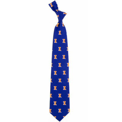 Illinois Fighting Illini Prep Tie | Eagles Wings | 3663