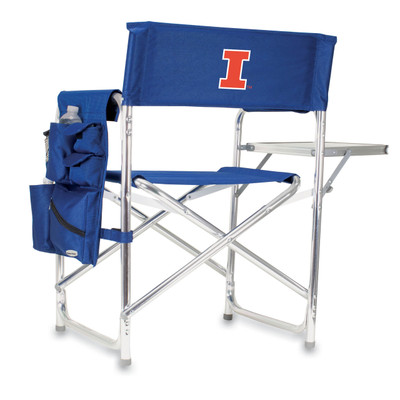 Illinois Fighting Illini Sports Chair | Picnic Time | 809-00-138-214-0