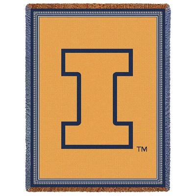 Illinois Fighting Illini Stadium Blanket