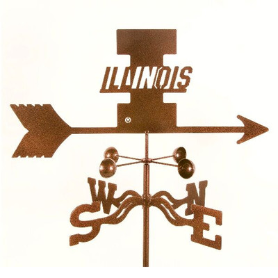 Illinois Fighting Illini Weathervane | EZ Vane | ILL