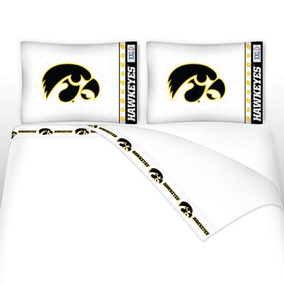 Iowa Hawkeyes Microfiber Sheet Set