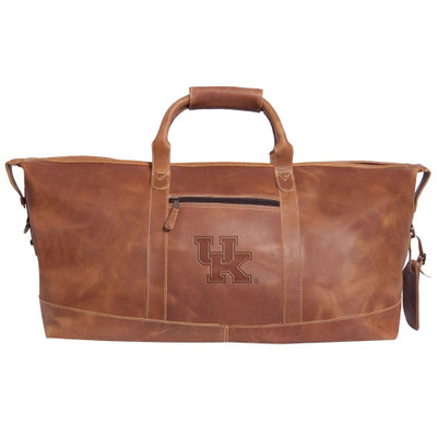 Kentucky Wildcats Leather Duffel Bag
