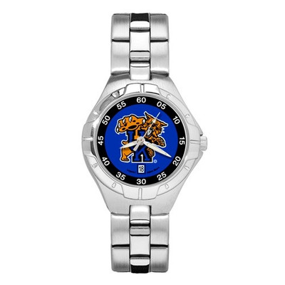 Kentucky Wildcats Women's Chrome Alloy Watch