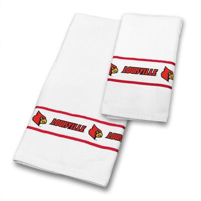 Louisville Cardinals Bath Towel Set | Sports Coverage | 04CTTWS4LOUSETS
