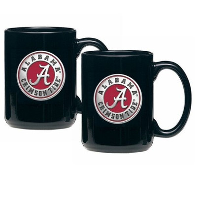 Alabama Crimson Tide Coffee Mug Set of 2