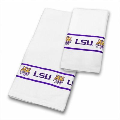 LSU Tigers Bath Towel Set | Sports Coverage | 04CTTWS4LASSETS