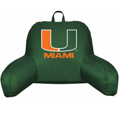 Miami Hurricanes Bedrest Pillow