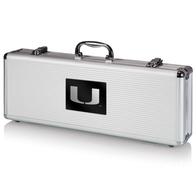 Miami Hurricanes Grill Set