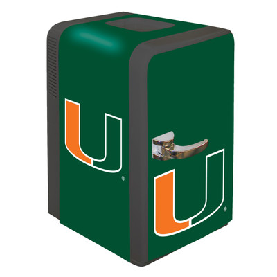 Miami Hurricanes 15 qt Party Fridge | Boelter