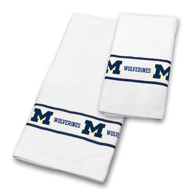 Michigan Wolverines Bath Towel Set