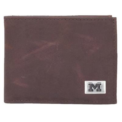 Michigan Wolverines Bi-Fold Wallet