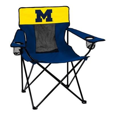 Michigan Wolverines Elite Tailgate Chair