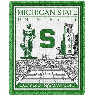 MSU Spartans Stadium Blanket