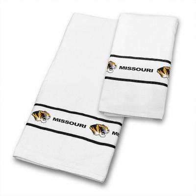 Missouri Tigers Bath Towel Set