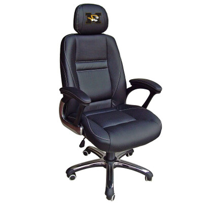Missouri Tigers Leather Office Chair