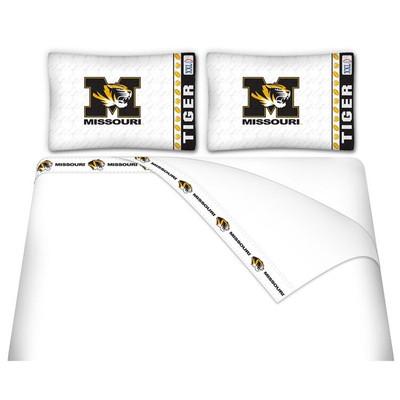 Missouri Tigers Microfiber Sheet Set
