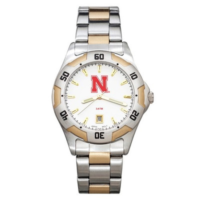 Nebraska Huskers Men's All Pro Watch