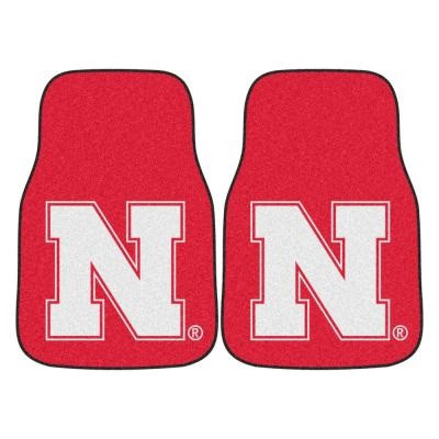Nebraska Huskers Carpet Floor Mats