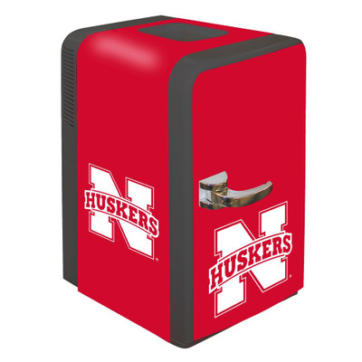 Nebraska Huskers 15 qt Party Fridge | Boelter