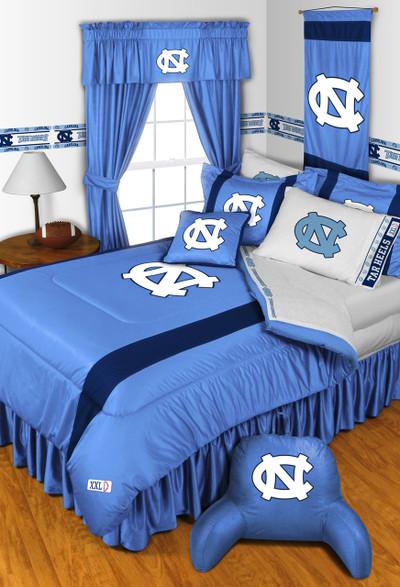 UNC Tar Heels Comforter Set