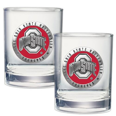 Ohio State Buckeyes Cocktail Glasses