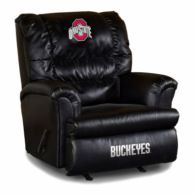 Ohio State Buckeyes Classic Leather Sofa