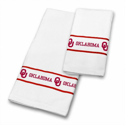Oklahoma Sooners Bath Towel Set