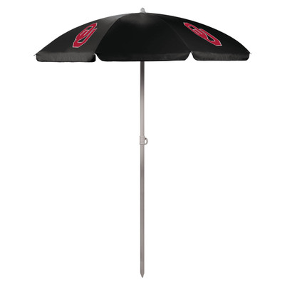 Oklahoma Sooners Beach Umbrella