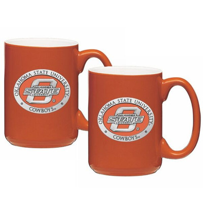 Oklahoma State Cowboys Coffee Mug Set